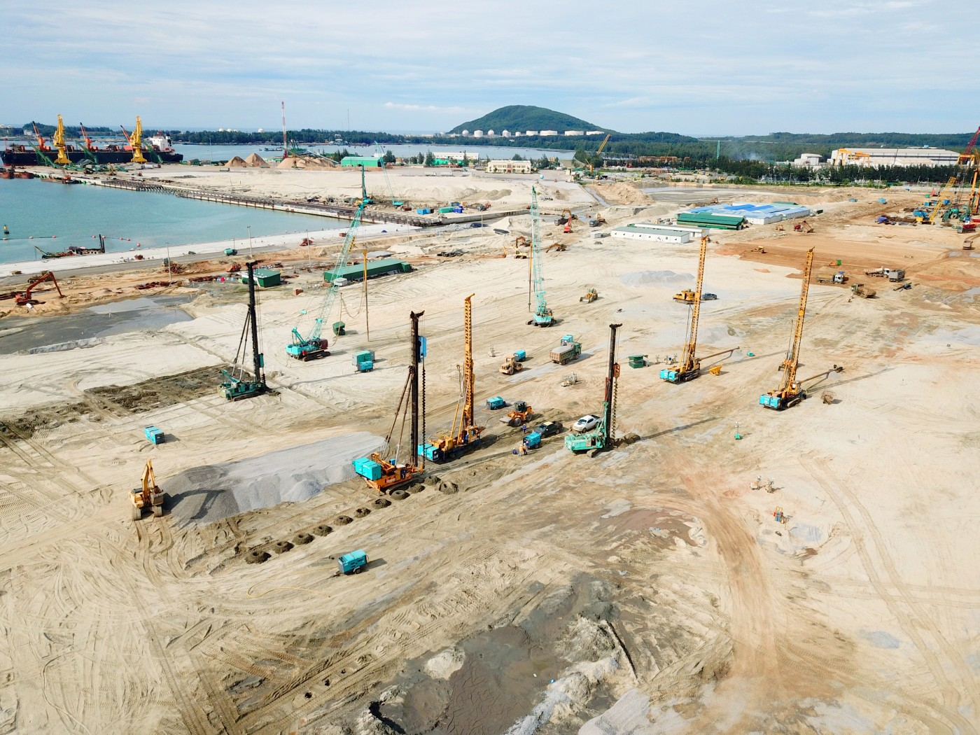 Keller ASEAN design and build solution for steel complex in Vietnam