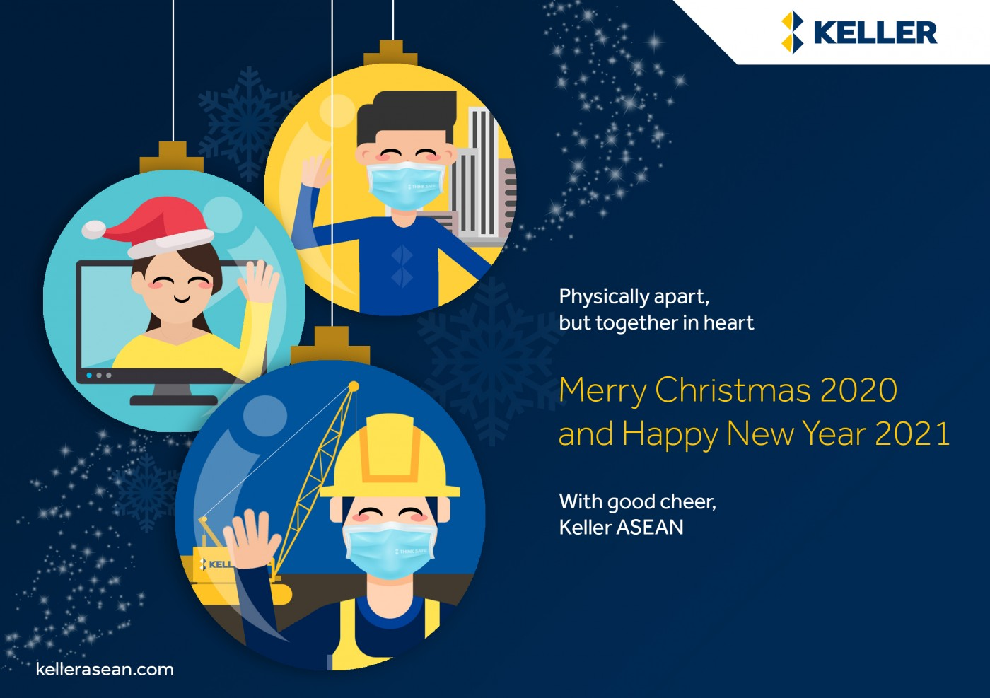 Keller ASEAN Holiday Greetings Christmas 2020 New Year 2021