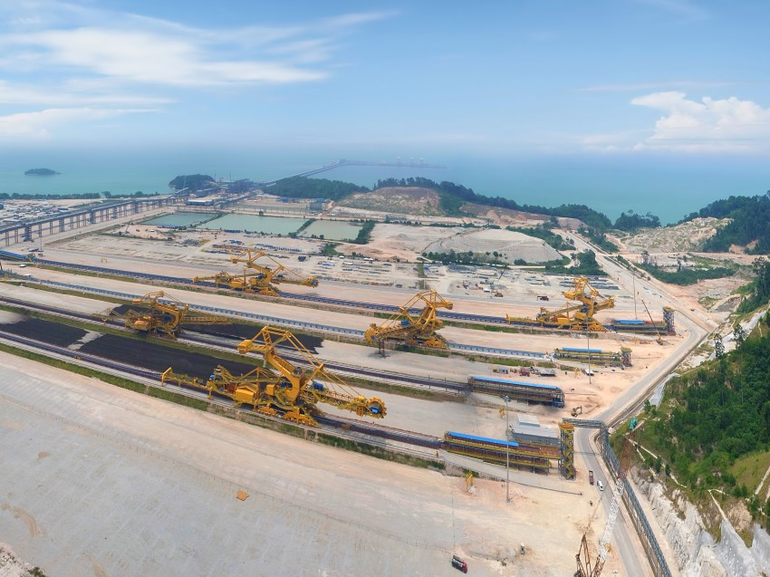 Keller project for Vale Iron Ore Facility in Malaysia