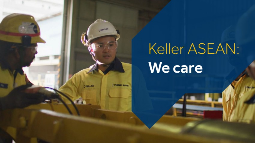 Keller ASEAN We care Campaign